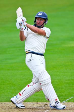 Gary Ballance top-scored with a magnificent 130