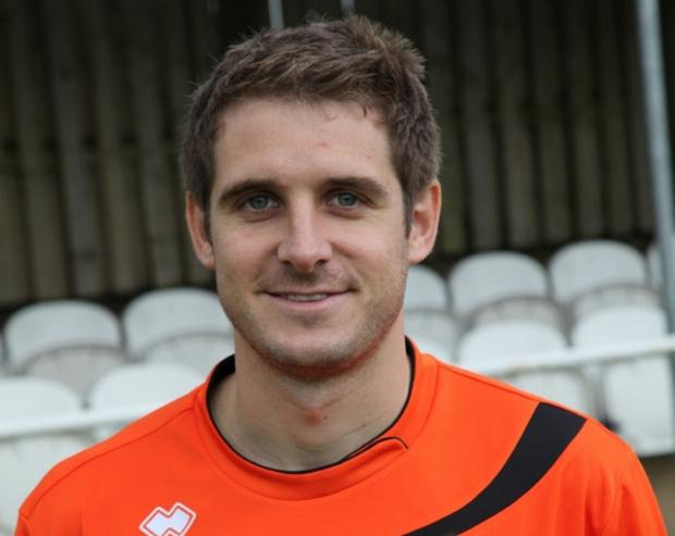 Tom Matthews of Brighouse Town