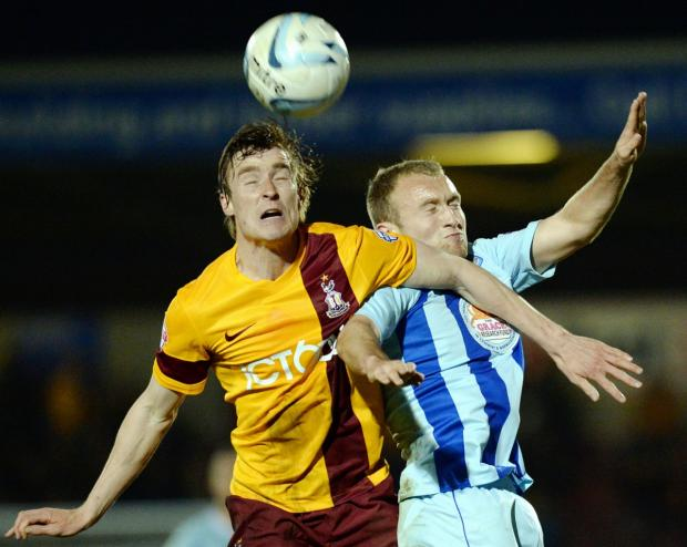 Bradford Telegraph and Argus: Stephen Darby's hirsuit look as the season comes to an end