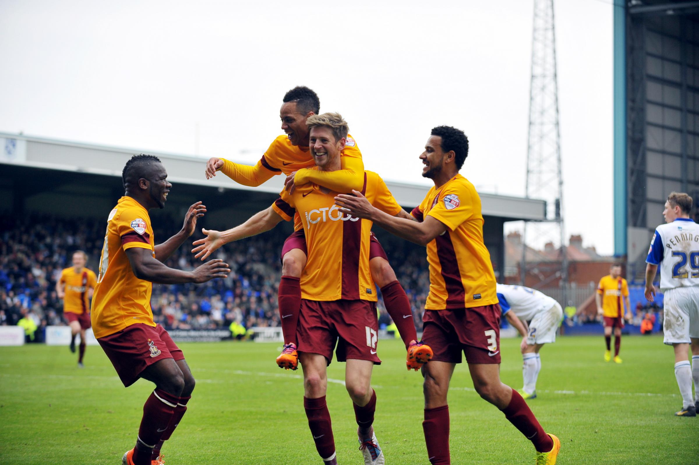 Agony for Tranmere and ecstasy for Bantams as curtain comes down on the season