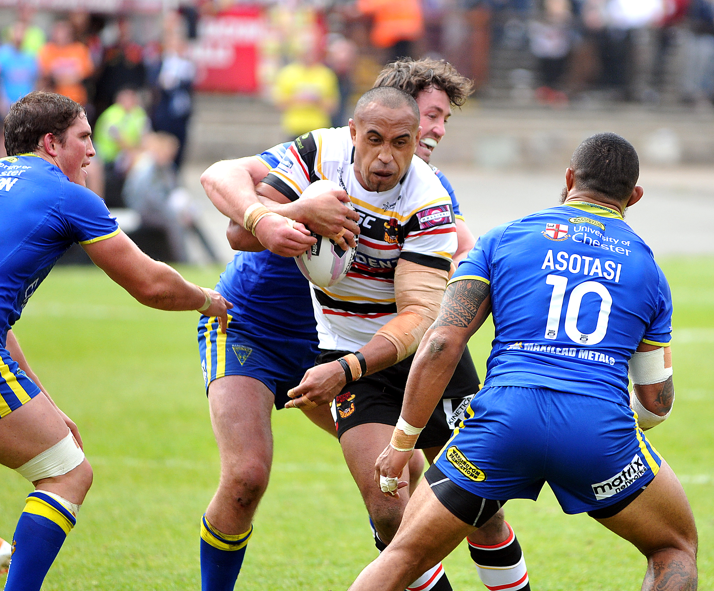 Antonio Kaufusi made a winning start to his Bulls loan spell and is hoping to go one better at home to St Helens