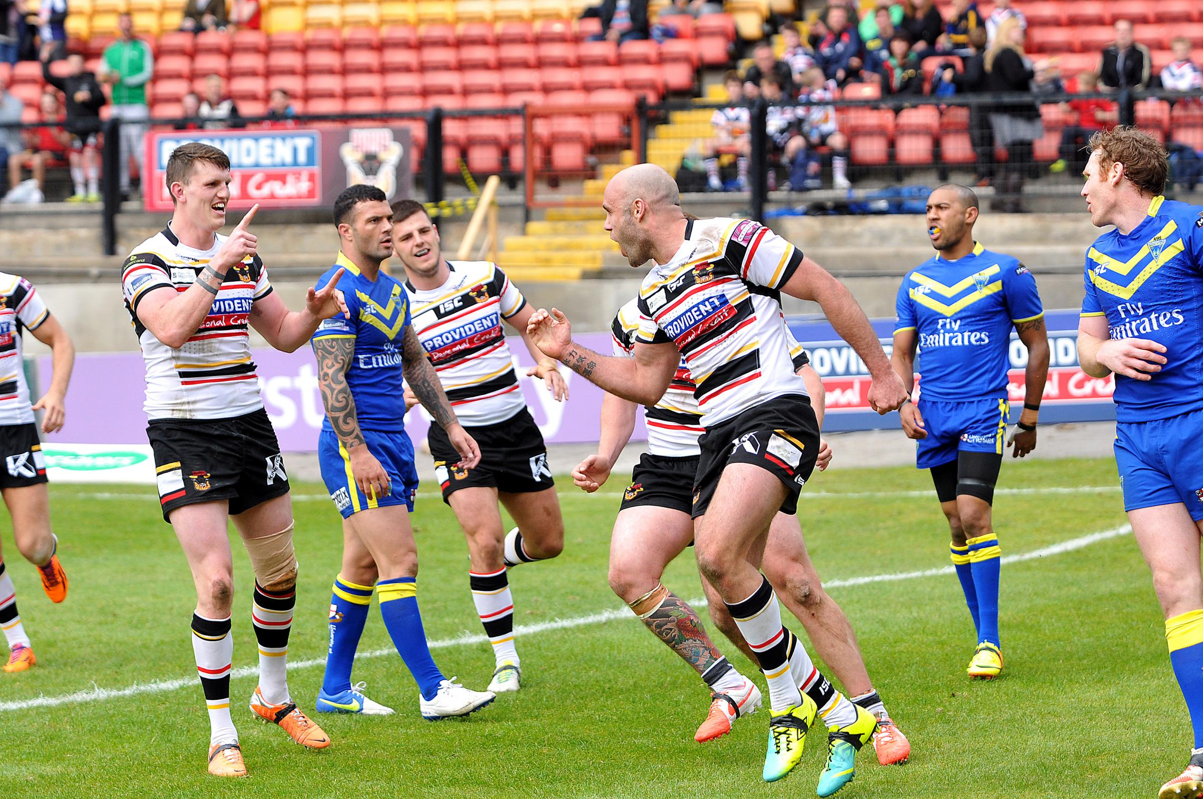 Bottoms up for reinvigorated Bradford Bulls