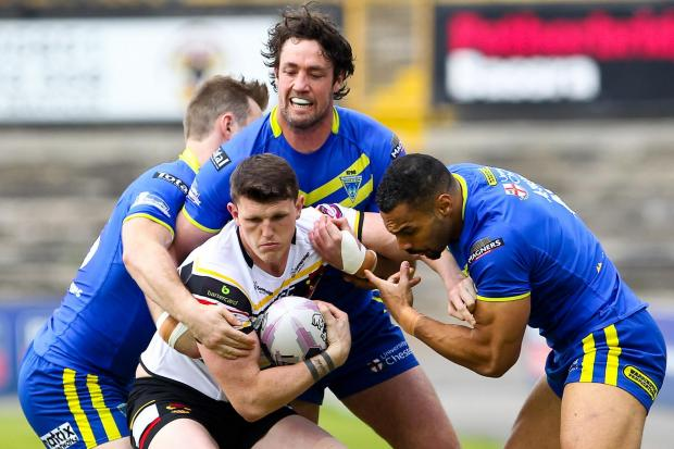 Bradford Telegraph and Argus: Lee Gaskell claimed three assists in the win over Warrington. He is now aiming to make Saints his third victims in a row since his successful switch to full back