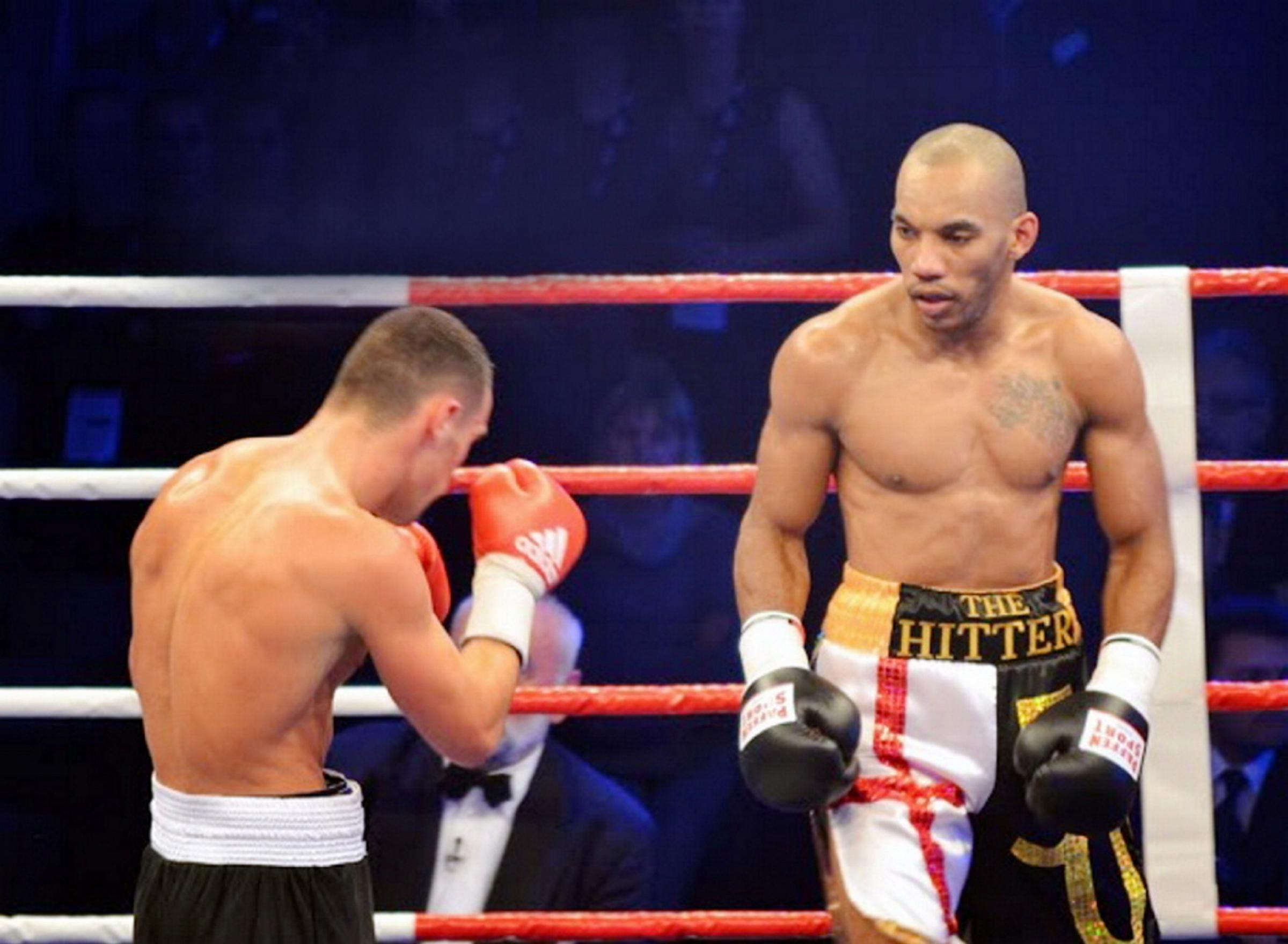 LANDMARK: Junior Witter in his 50th pro fight against Timo Schwarzkopf