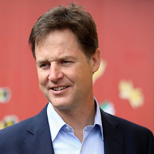 Nick Clegg's speech comes with less than a fortnight to go until key European and local elections