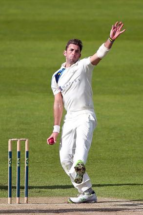 AGGRESSIVE APPROACH: Liam Plunkett has adopted a positive mindset, which saw him impress with both bat and ball for Yorkshire