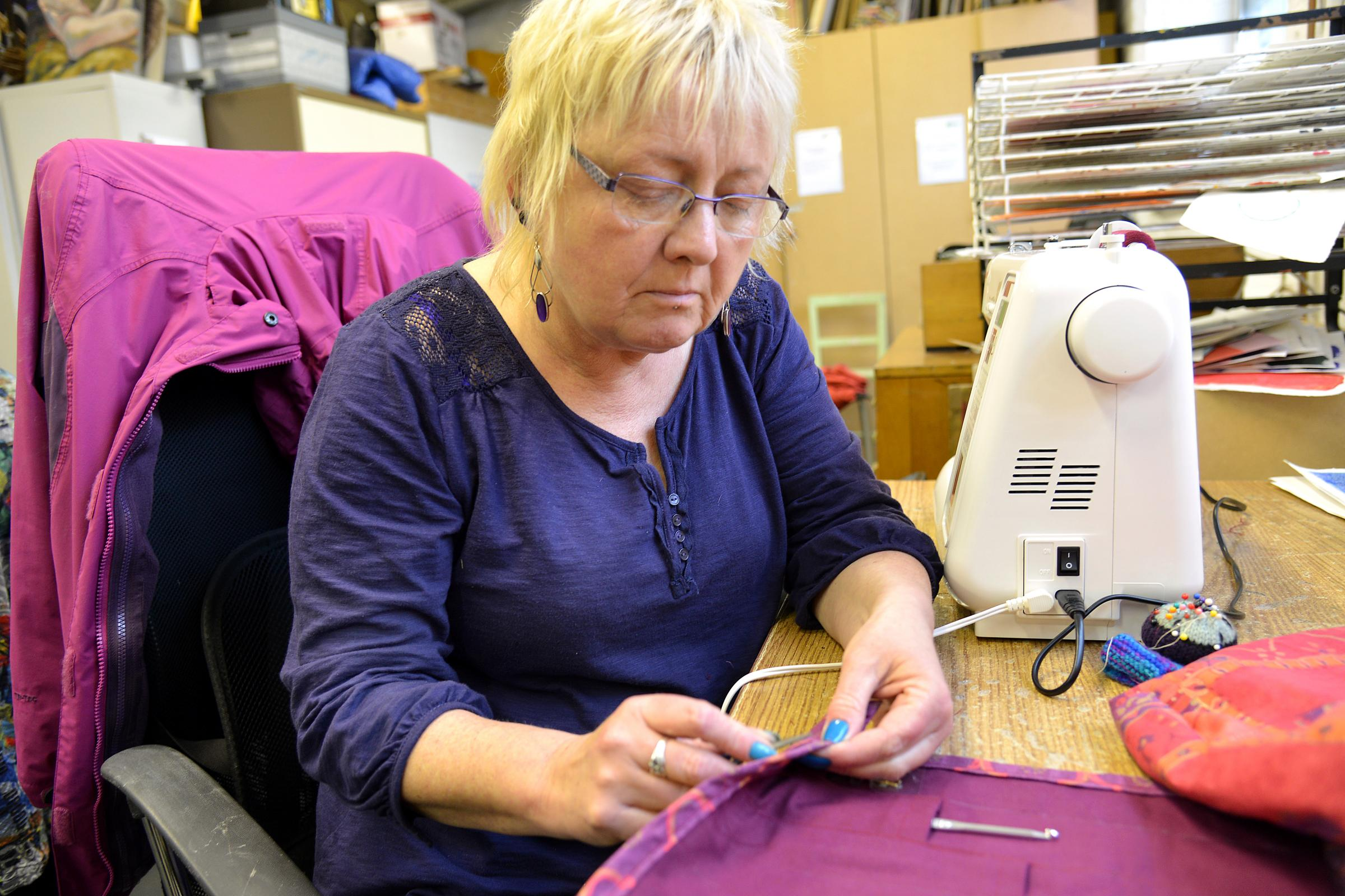 Sewing bee creates a buzz at the hive