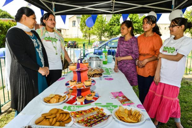 Generations and neighbours come together   for The Big Lunch   community drive