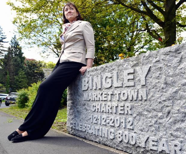 Ros Dawson, chairman of the Bingley Community Council Group