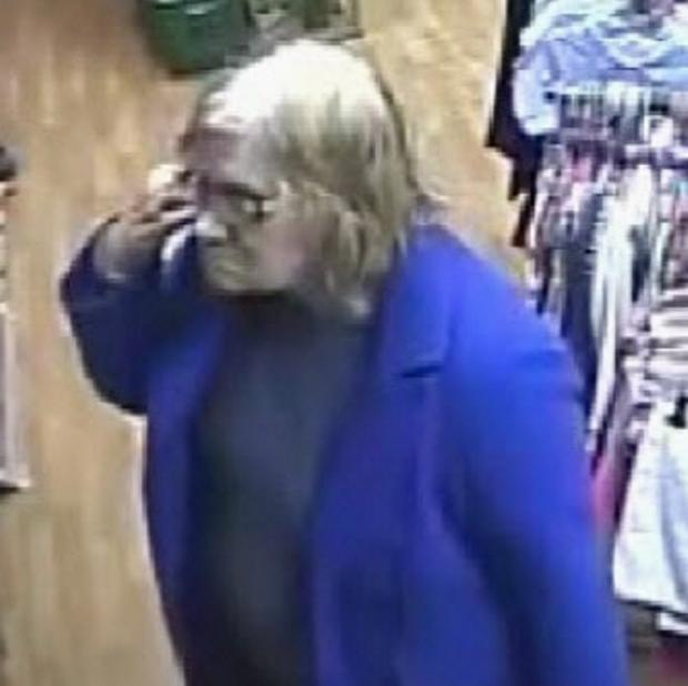 Search for shoplifting suspect