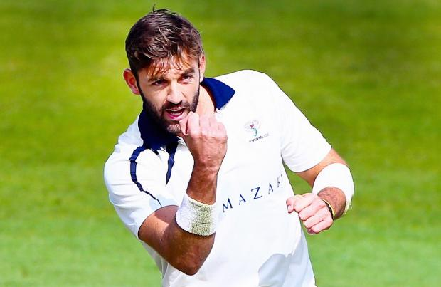 Liam Plunkett top-scored for Yorkshire with 36 and took two wickets but finished on the losing side