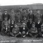 Bradford Telegraph and Argus: Driffield lads joining the Yorkshire regiment