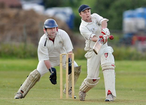 Ben Bright top-scored with 49 for Haworth's second team in their thrilling tie at Thornton-in-Craven Seconds