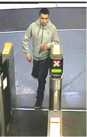The man police want to speak to over the attempted robberies at