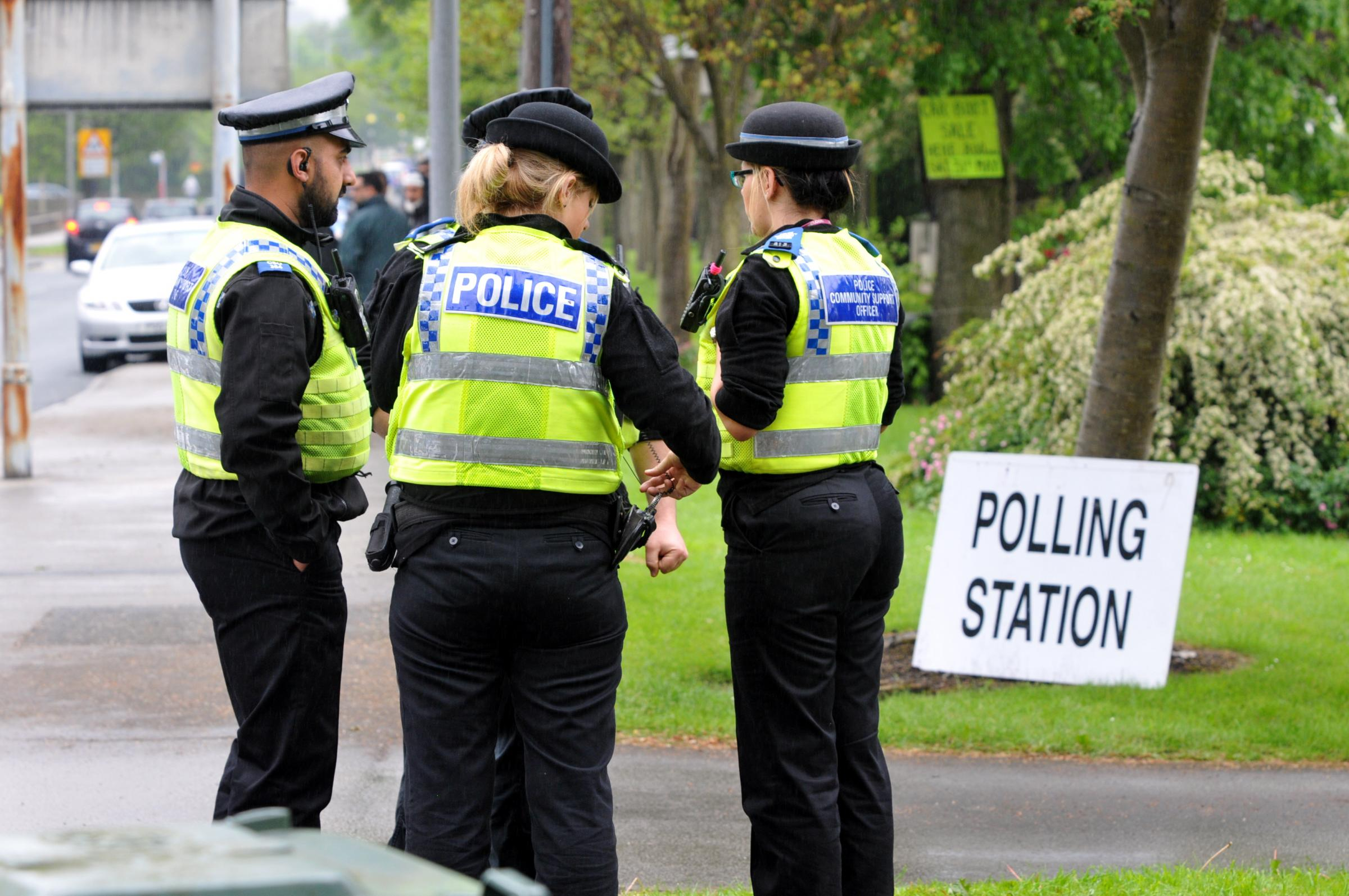 Fears of violence and intimidation in Bradford on polling day prove unfounded