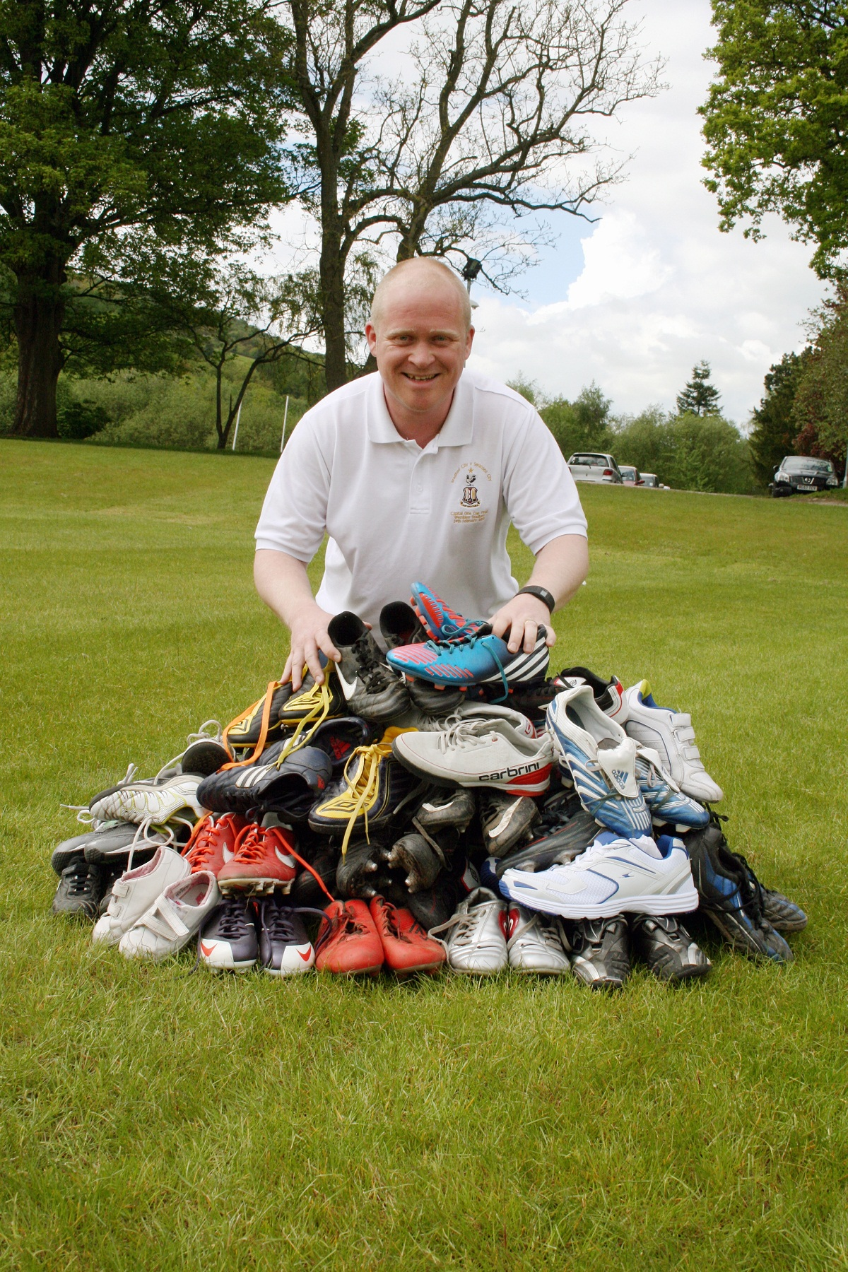 Bingley Grammar School getting a kick out of boots for Africa