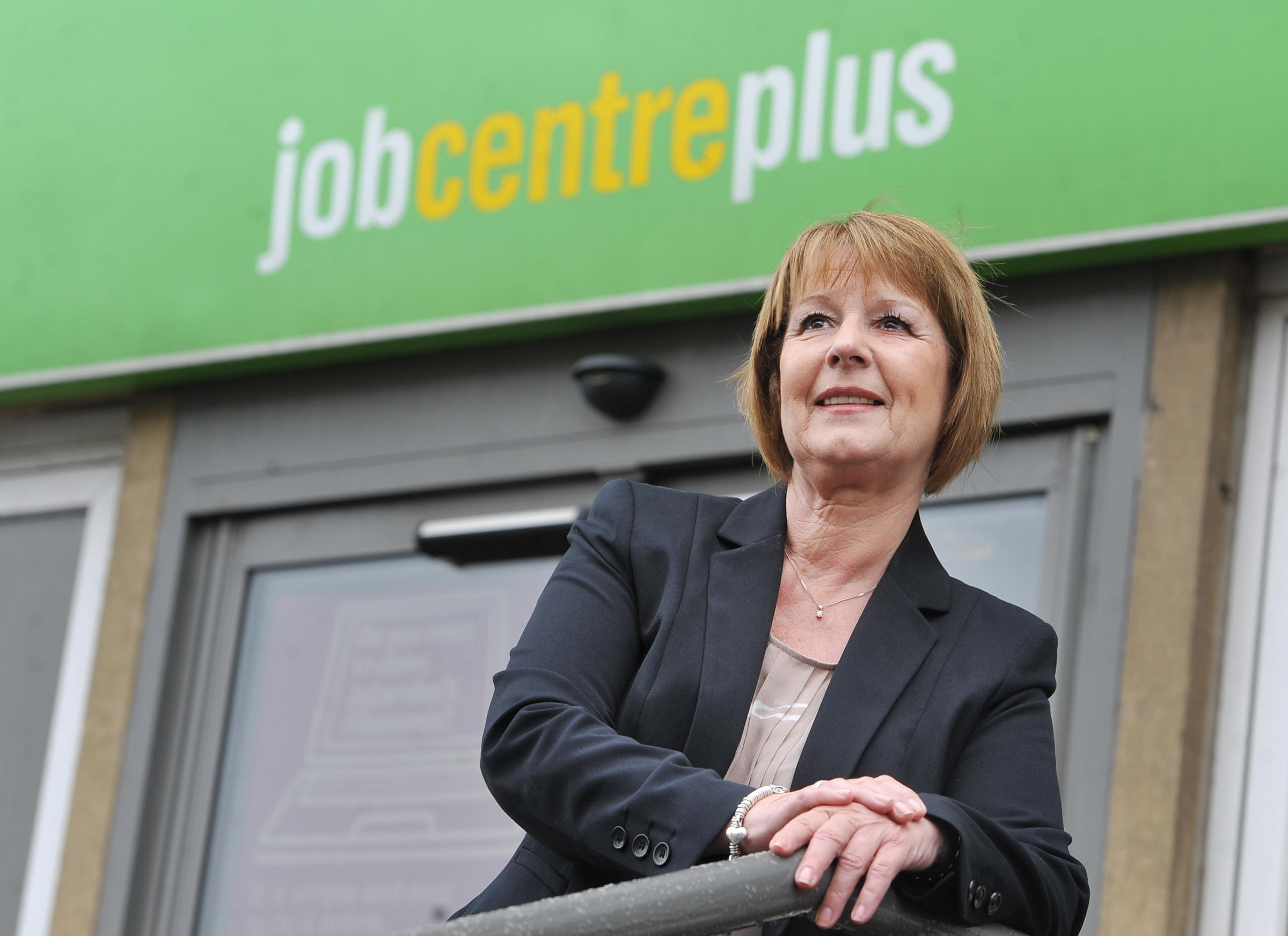 BREAKING THE CYCLE: employer and partnership manager, Diana Towler, at Bradford Job Centre on Manningham Lane, where work is being done locally to get jobseekers trained