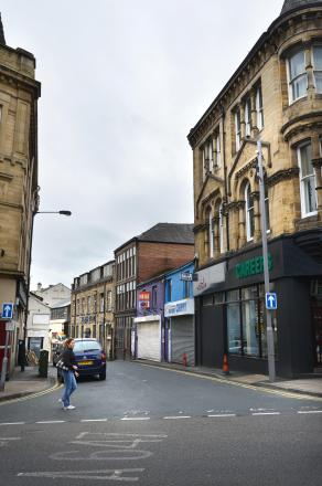 Sackville Street in Bradford city centre