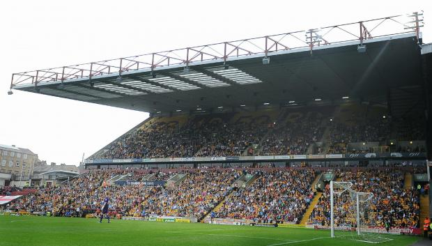 Fans pack in to Valley Parade for the visit of Sheffield United last season