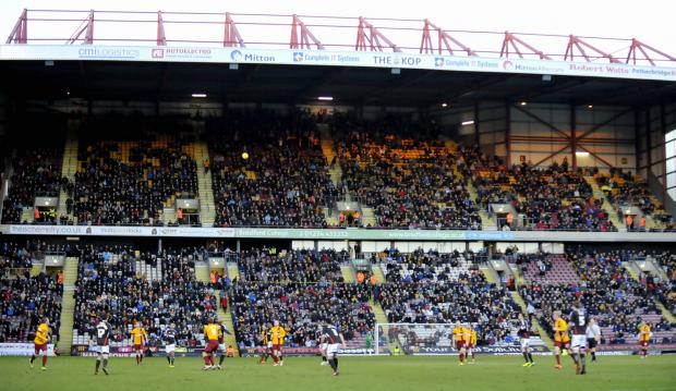 FAN POWER: Players are tempted to sign for City because of the fantastic atmosphere provided by the bumper Bantams crowd