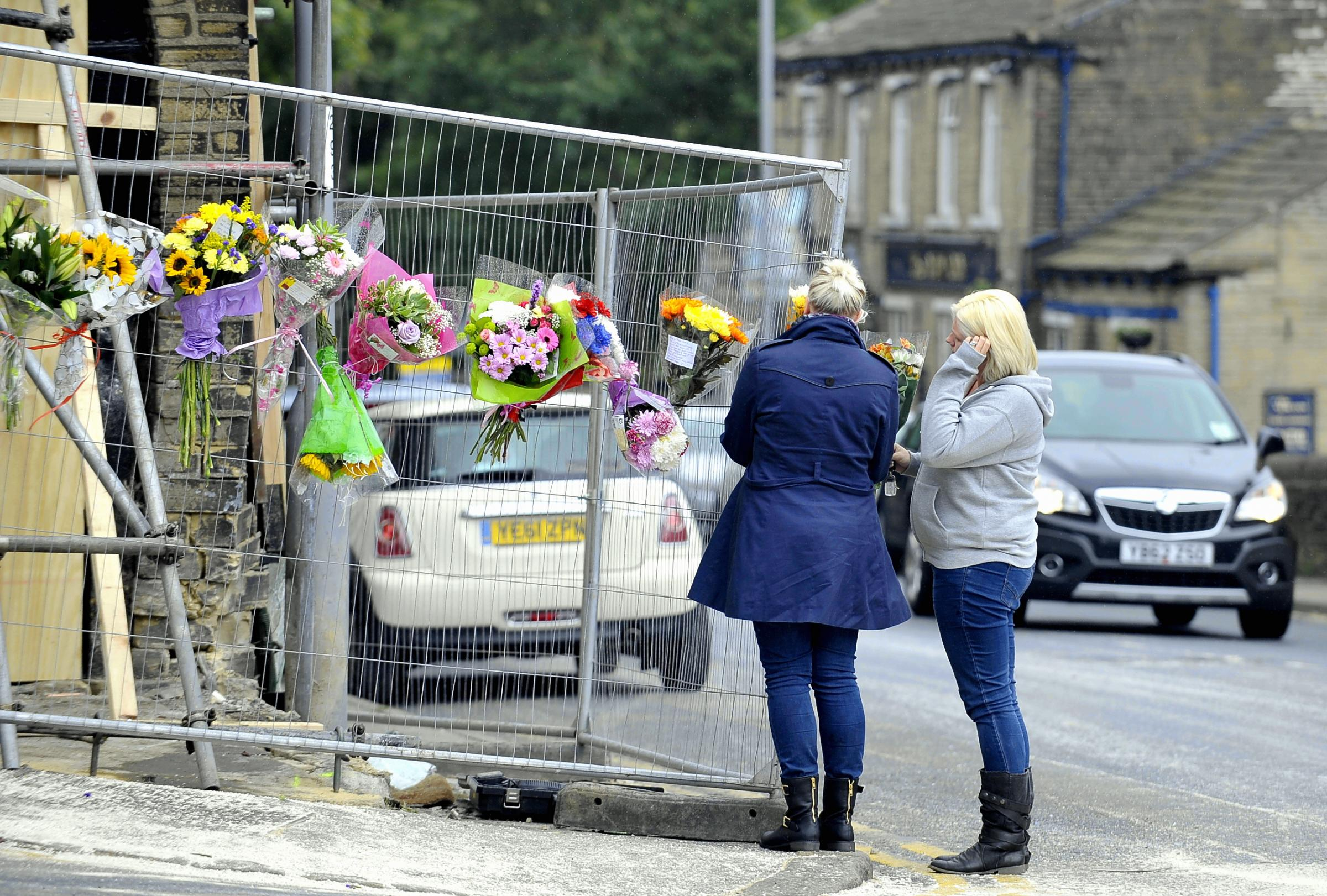 CRASH SCENE: A report into fatalities on Bradford's roads is being finalised