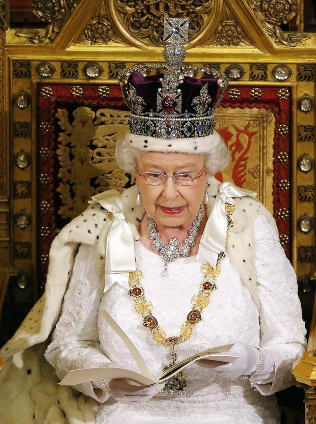Bradford Telegraph and Argus: The Queen