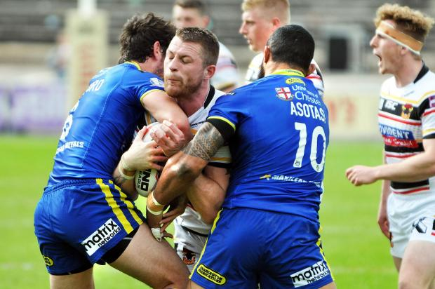 NO REGRETS: Adam Sidlow is relishing regular game time at Bulls after moving from Salford