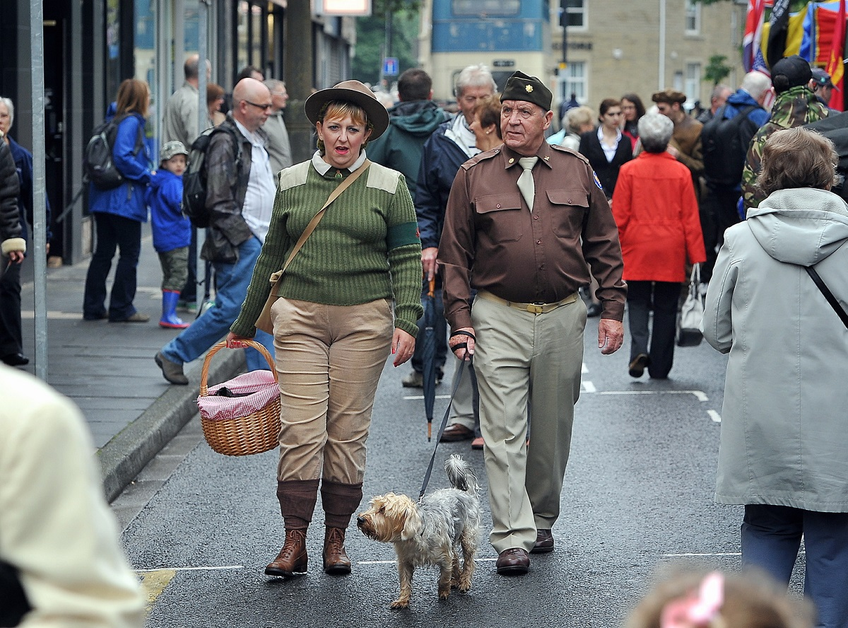 Nostalgia rules as Brighouse enjoys 1940s weekend of wartime memories