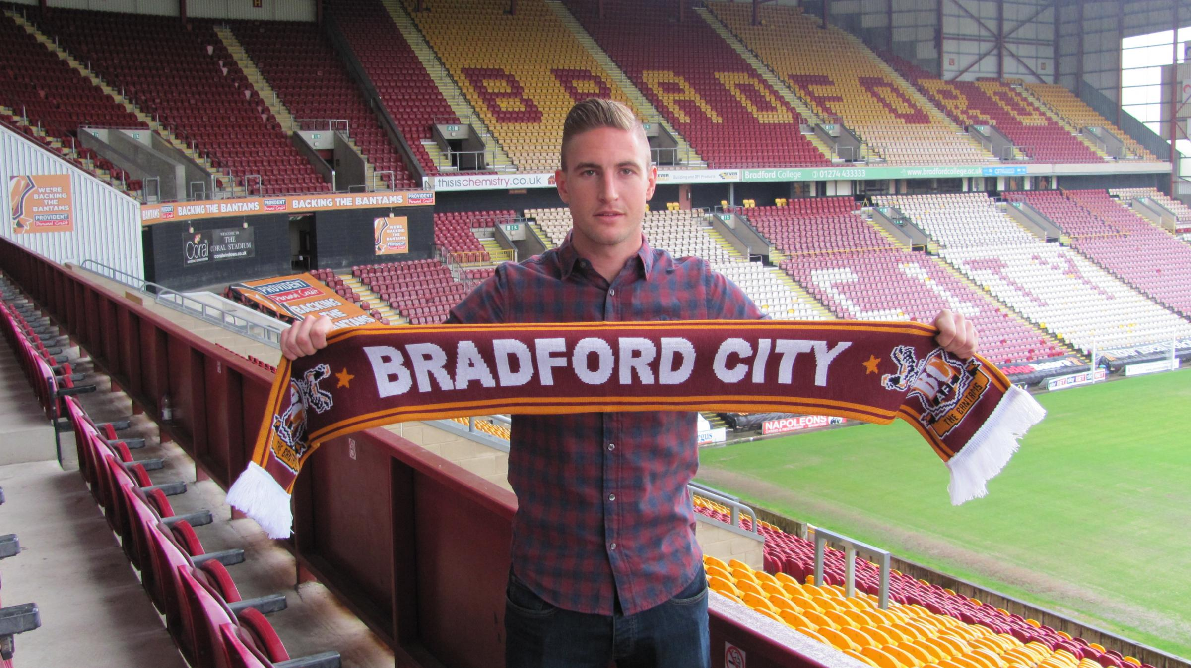 Gary Liddle is delighted to link up with the Bantams