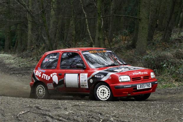 Sam Bilham driving his Next Big Step Nissan Micra ? Picture: Jakob Ebrey Photography (6940275)