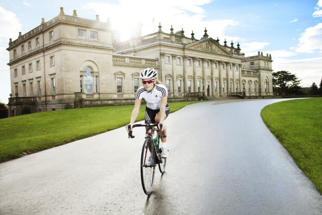 Lizzie Armitstead is attending the Dare 2b Yorkshire Festival of Cycling, held as part of the Tour de France Grand Depart, at Harewood House in Leeds