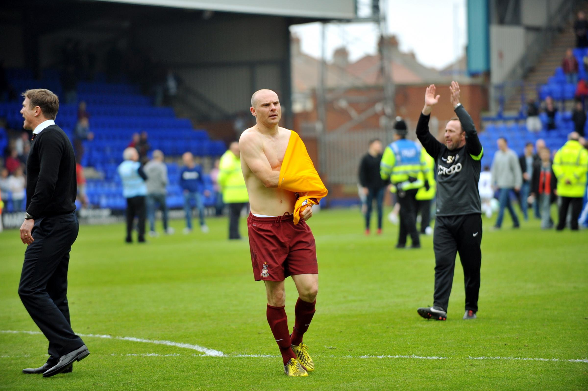 Former Bantam Gary Jones linked with Fleetwood