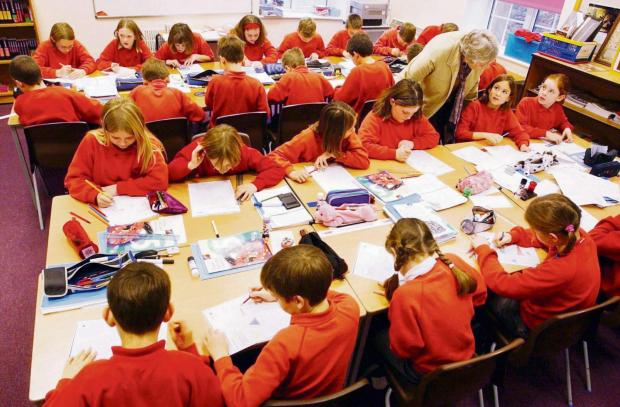 Bradford Telegraph and Argus: Busy classroom scene