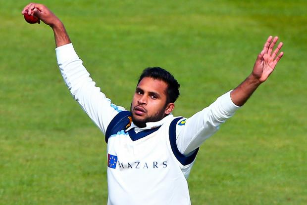 Rashid causes trouble with treble against Durham