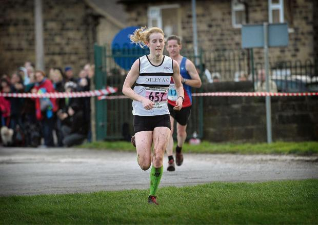 Bradford Telegraph and Argus: Racheal Bamford has made vast improvements this spring in the 3,000 metres steeplechase