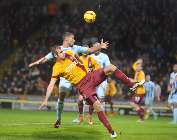 Bradford Telegraph and Argus: Last season's match at home to Coventry finished 3-3