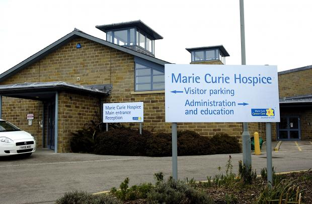 Bradford Telegraph and Argus: A new £300,000 Marie Curie Hospice wing opened this morning