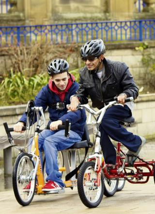 Riders will have the chance to use a range of fully-inclusive adapted bikes, as used by members of Bradford-based disability cycling club, Cycling4All.