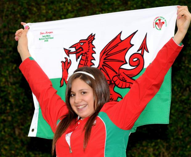 Sian Morgan will again be flying the Commonwealth Games flag for Wales