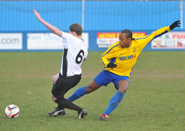 Danny Facey was Albion Sports' players' player of the year