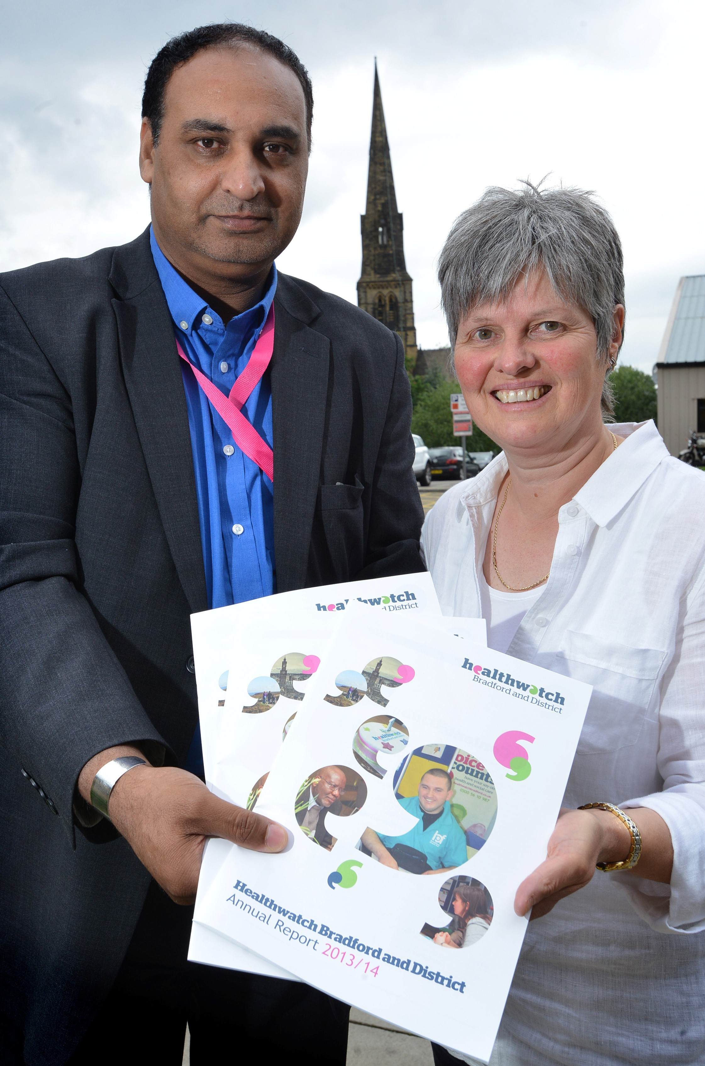Bradford's health watchdog presents its first annual report