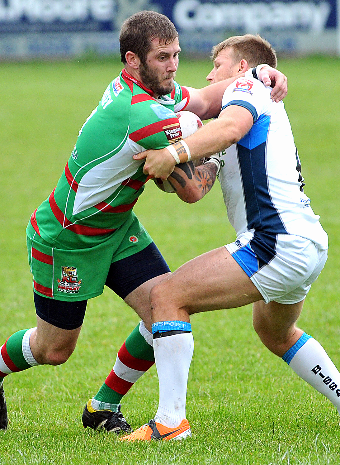 James Haley was among the try-scorers for Cougars
