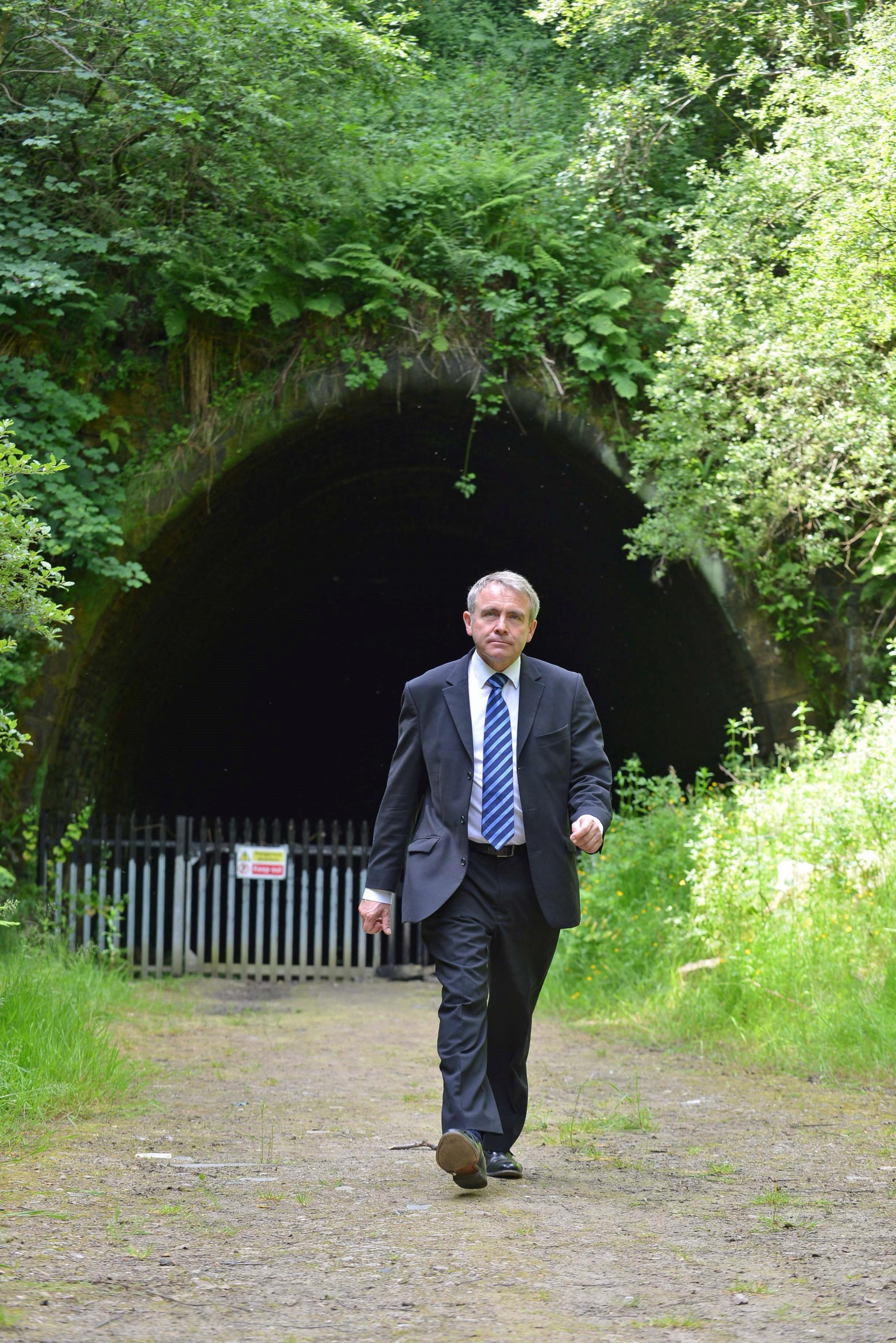 VIDEO: Government minister's praise for Queensbury tunnel cycle plans
