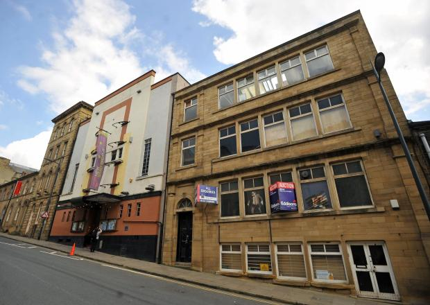 The New Bradford Playhouse, Little Germany.