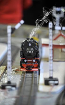A previous model railway event