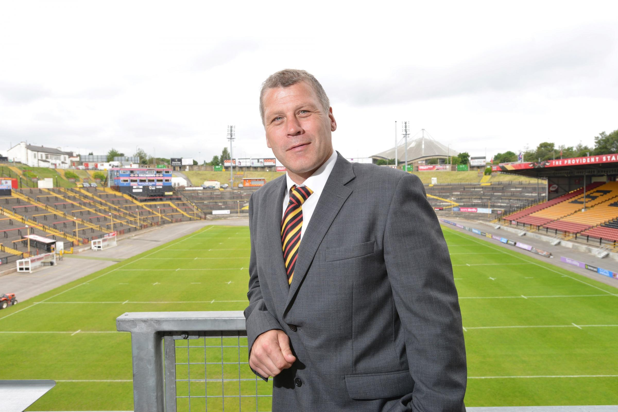 Bradford Bulls legend Jimmy Lowes proud to be back at Odsal