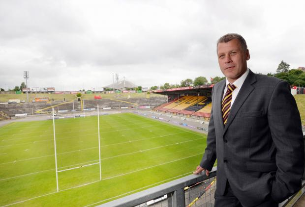 Bradford Telegraph and Argus: Jimmy Lowes is back at Odsal as the Bulls' new head coach