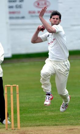 Cleckheaton pace bowler James Lee is third in the league batting averages