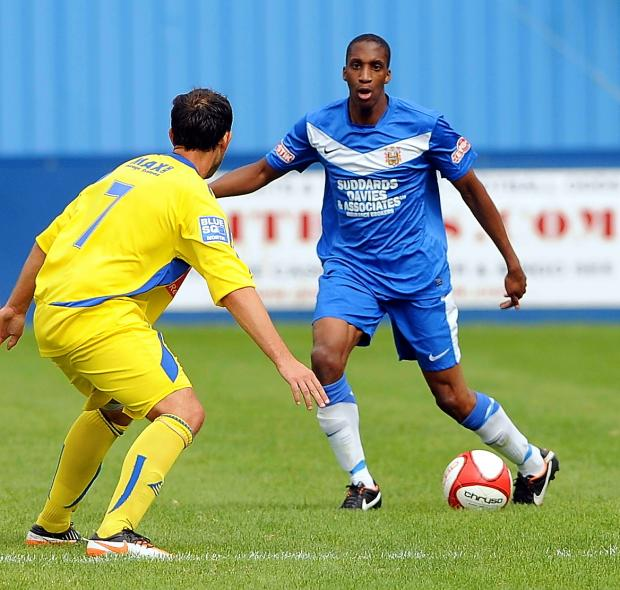 Farsley left back Ryan Serrant, who was in the Evo-Stik Division One North team of the season in 2013-14, is among those to have re-signed