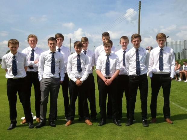 Upper Airedale's Joe Lumb Competition squad for 2014